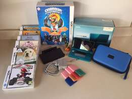 Aqua Blue Nintendo3Ds + games and more