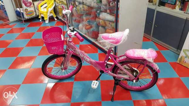 "18"" pink colour for lady cycle available"