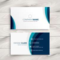100 Business Cards at 20k (Single Face)