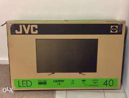 """JVC FHD LED 40"""" TV R3600 (new in the box)"""