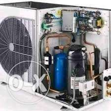Split AC gas charge and service good price