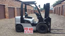 for hire 2.5 ton forklift