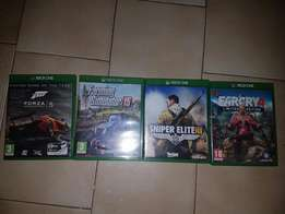 4 xbox one games for sale