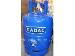 3kg cadac gas bottle with cooker top