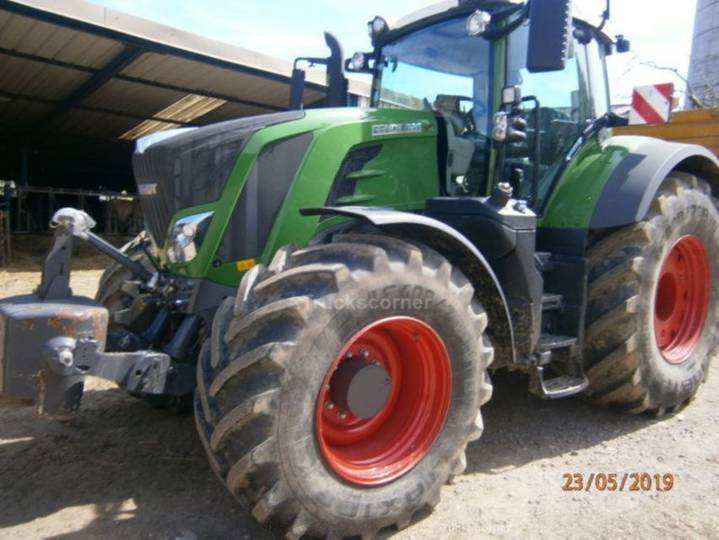 Fendt 826 s4 vario profi plus - 2016
