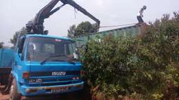 container delivery to the site for customers containers