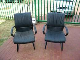 Office chairs Black Leather