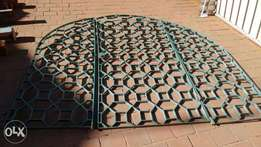 Steel items- gates, fire place & much more all for R3500 neg