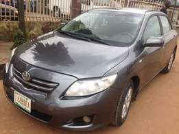 Bought brand new Naija used Toyota corolla