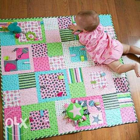Baby play mat, nursing pillow, and lounger Aba - image 4