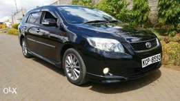 Immaculate clean toyota fielder 2011 with sunroof for sale