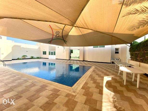 luxury and modern semi or fully furnished villa close to bisb