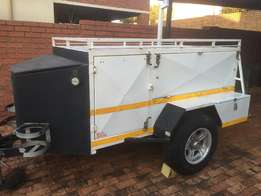 Off road trailer manufactured by V-Tec Trailers