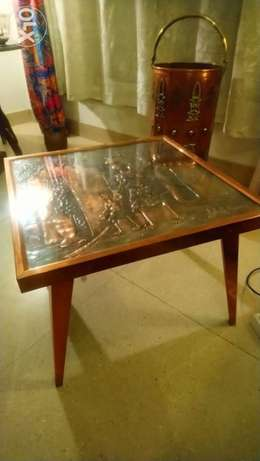 Coffee table with lovely carving and in fantastic condition antique vi