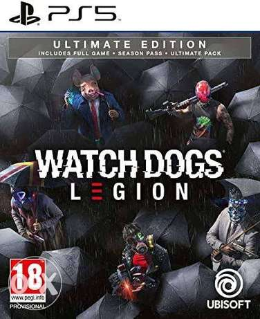 Watch Dogs legion ultimate edition ps5&ps4