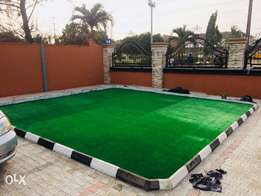 soft and dense synthetic turf for garden