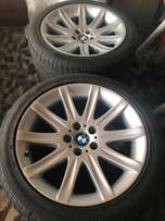 BMW individual mags 19 inch tyres new offers