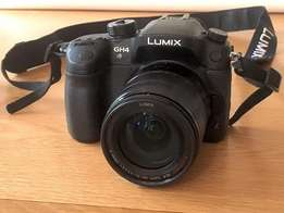 Panasonic Lumix GH4 Camera & Lumix G X VARIO 14-140mm lens