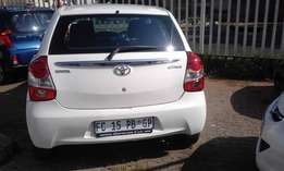 Immaculate Condition 2016 Toyata Etios 1.5XS