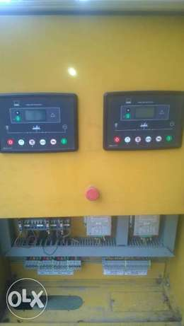 Dual Amf panel with deepsea control module and 45amps contactor. Ikotun - image 1