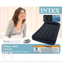 Twin classic pillow rest intex airbed