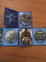 Infamous Second Son, Call of Duty Advanced Warfare and Injustice PS4