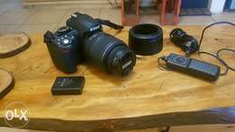 Nikon D3100 Twin lenses kit