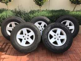 Jeep Wrangler Rims & Tyres For Sale