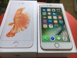 64GB iPhone 6s plus in gold colour for sale