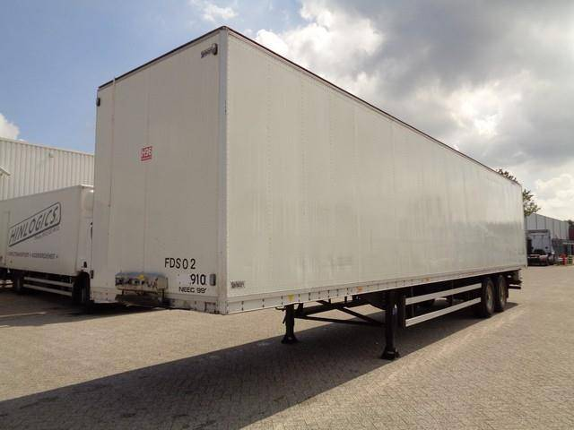 Talson 2 Achsen, Box, BPW, Drum, NL Trailer - 1995
