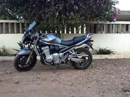 Unregistered motorbike for sale.