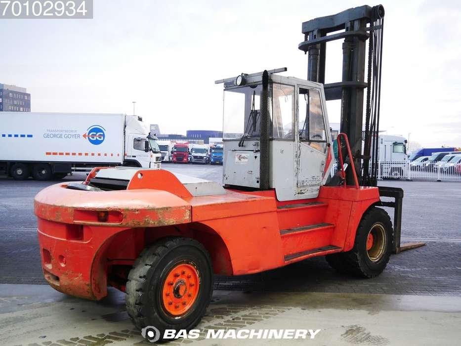 Linde H160-1200 Side shift - good tyres - 1993 - image 4