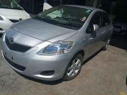 Toyota belta with alloy rims 2010