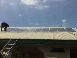 7.5KVA solar home system at 1,800,000. Your 24 hours lights is sure.