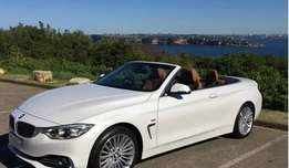 Selling a luxury line BMW 4 series Convertible