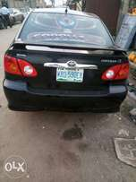 Clean Toyota Corolla Sport 2004 Model Available