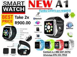 Smart Watch NEW A1 Funky colours
