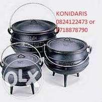 Potjie pots from R120.00 each
