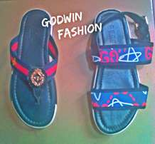 Original Gucci sandal and pun now available at Godwin fashion boutique