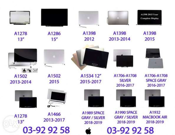 macbook pro mac macbook air retina screen 2010 mid 2019 IN STOCK