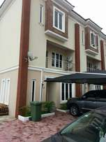 New finishing and service 4bed terrace with bq at Abiola Court Ikate