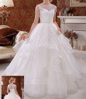 Шикарное свадебное платье тм