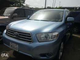 Direct Tincan cleared 2009 Toyota highlander. Limited edition