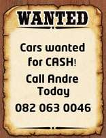 We buy cars for cash!