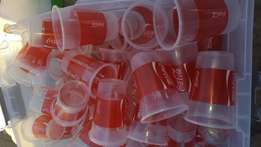 plastic coke glases for sale