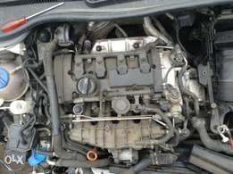 Golf 6 Gti R complete engine for sale