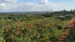 Quater acre with awesome views at kamangu 800 meters off the tarmac.