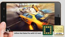 infinix hot note pro with 32gig and 2 gig ram