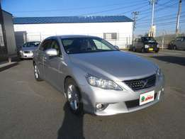 2009 Grade 4 Toyota Mark X, With Safety and Luxury Features