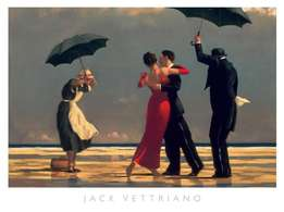 Vettriano 'The Singing Butler' Print and Frame